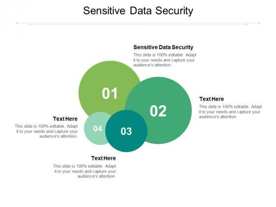 Sensitive Data Security Ppt PowerPoint Presentation Professional Design Templates Cpb Pdf