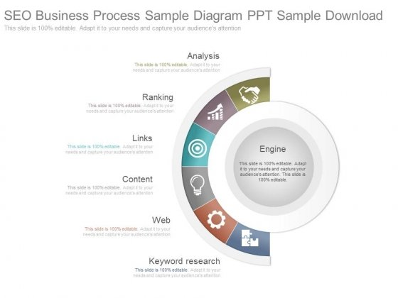 Seo Business Process Sample Diagram Ppt Sample Download