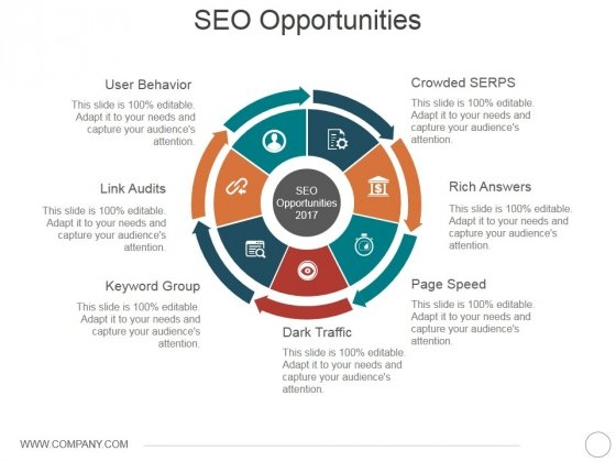 Seo Opportunities Ppt PowerPoint Presentation File Inspiration