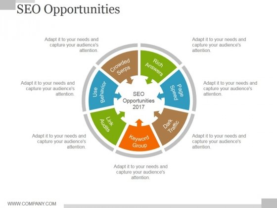 Seo Opportunities Ppt PowerPoint Presentation Pictures Design Templates