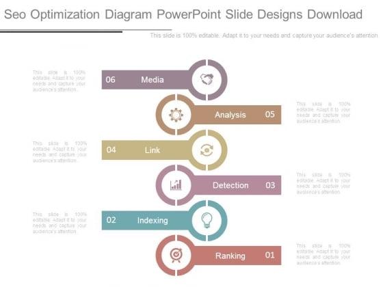 Seo Optimization Diagram Powerpoint Slide Designs Download