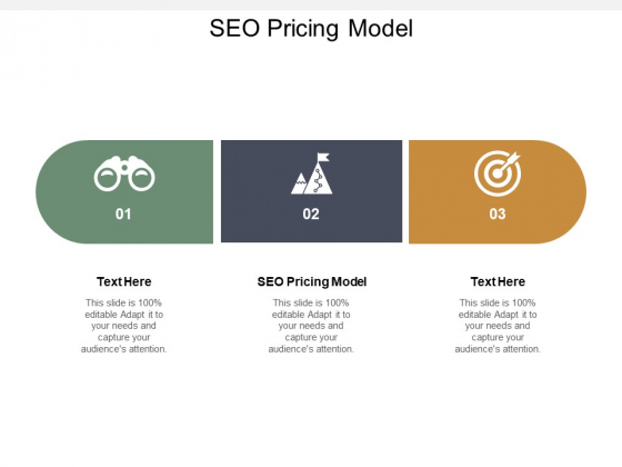 Seo Pricing Model Ppt PowerPoint Presentation Gallery Graphics Tutorials Cpb