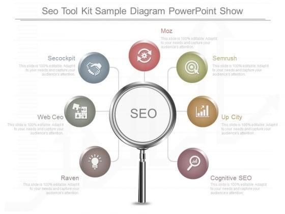 Seo Tool Kit Sample Diagram Powerpoint Show