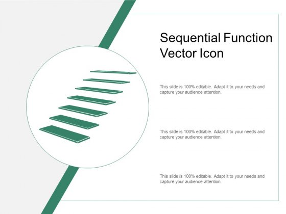 Sequential Function Vector Icon Ppt PowerPoint Presentation Gallery Samples