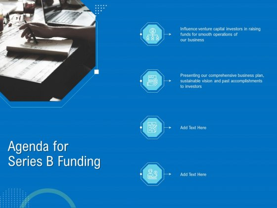 Series B Funding For Startup Capitalization Agenda For Series B Funding Themes PDF