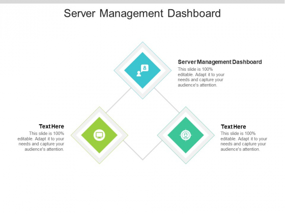 Server Management Dashboard Ppt PowerPoint Presentation Professional Icon Cpb Pdf