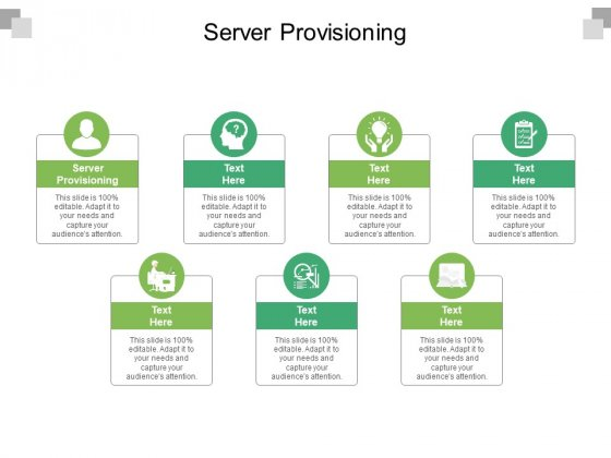 Server Provisioning Ppt PowerPoint Presentation Layouts Portrait Cpb Pdf