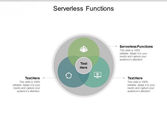 Serverless Functions Ppt PowerPoint Presentation Layouts Example Introduction Cpb