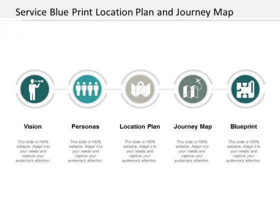 Service Blue Print Location Plan And Journey Map Ppt Powerpoint Presentation Summary Graphics Download