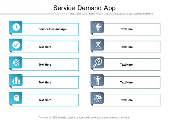 Service Demand App Ppt PowerPoint Presentation Icon Design Templates Cpb Pdf