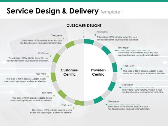 Service Design And Delivery Template 1 Ppt PowerPoint Presentation Slides Background Images