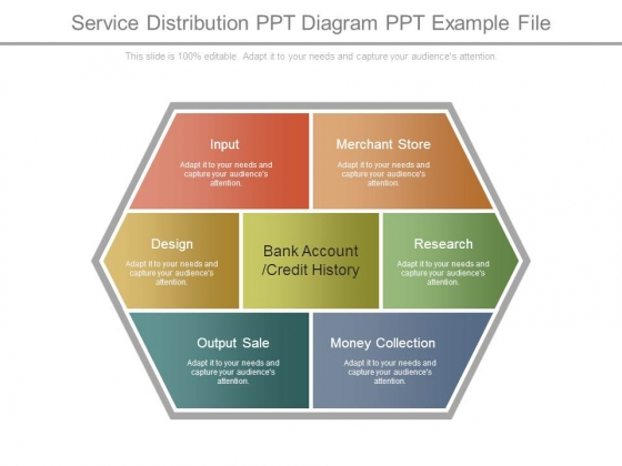 Service Distribution Ppt Diagram Ppt Example File