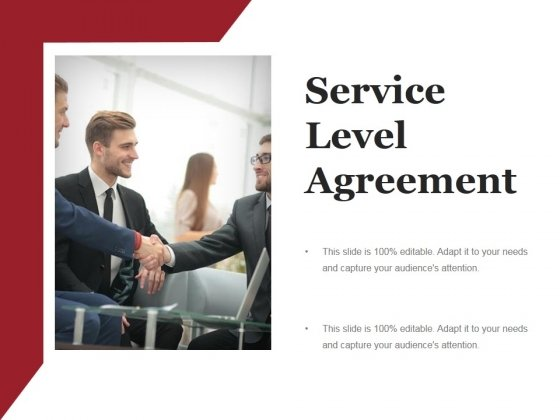 Service Level Agreement Ppt PowerPoint Presentation Icon Graphics Template