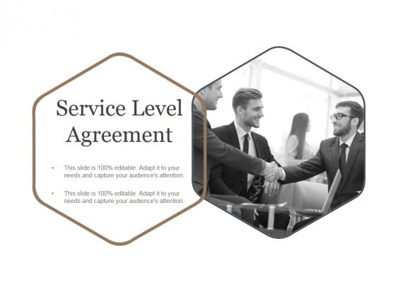 Service Level Agreement Ppt PowerPoint Presentation Rules