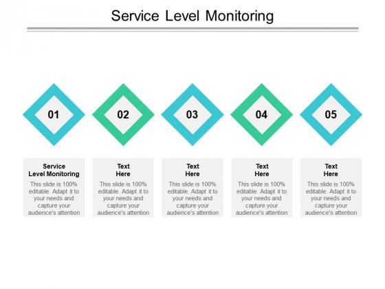 Service Level Monitoring Ppt PowerPoint Presentation Backgrounds Cpb Pdf