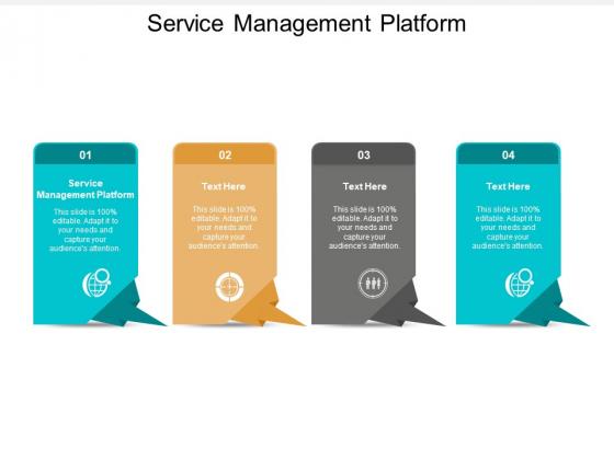Service Management Platform Ppt PowerPoint Presentation Infographic Template Grid Cpb