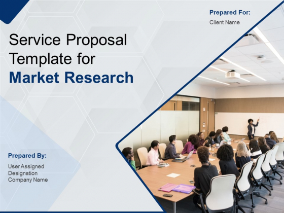 Service Proposal Template For Market Research Ppt PowerPoint Presentation Complete Deck With Slides