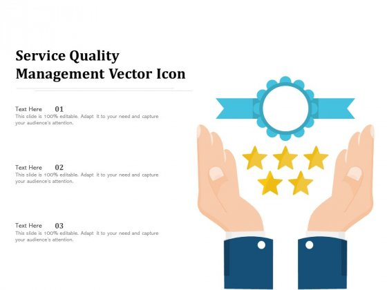 Service Quality Management Vector Icon Ppt PowerPoint Presentation File Show PDF