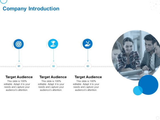 Service Strategy And Service Lifecycle Implementation Company Introduction Ppt Show Layouts PDF