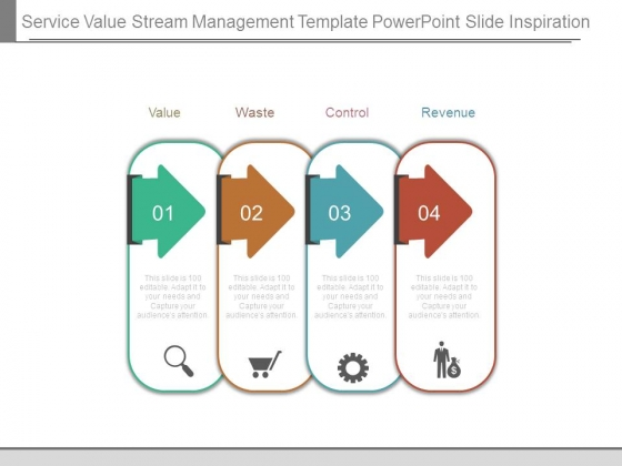 Service Value Stream Management Template Powerpoint Slide Inspiration