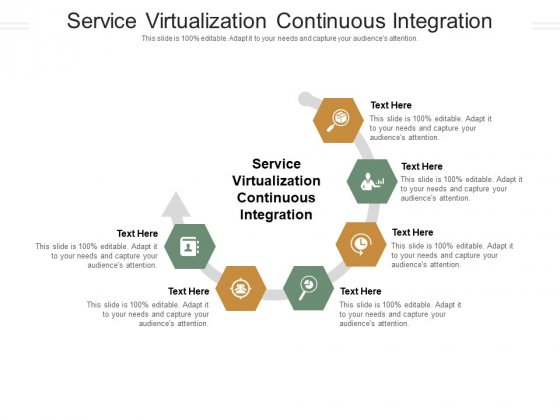 Service Virtualization Continuous Integration Ppt PowerPoint Presentation Portfolio Ideas Cpb Pdf