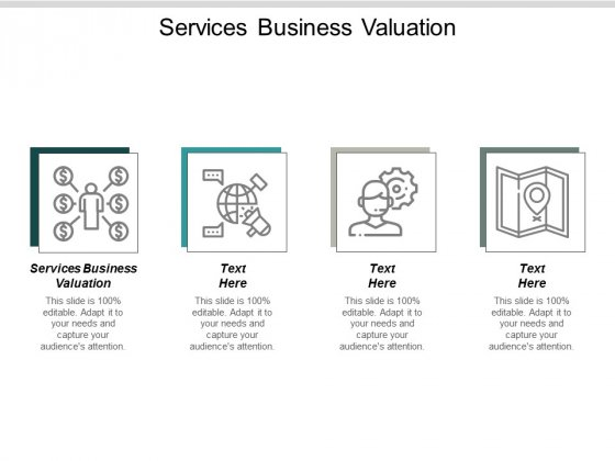 Services Business Valuation Ppt PowerPoint Presentation Pictures Design Templates Cpb