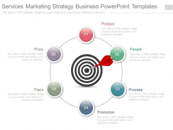 Services Marketing Strategy Business Powerpoint Templates