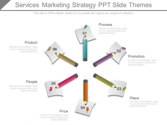 Services Marketing Strategy Ppt Slide Themes