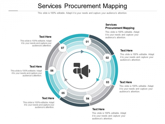 Services Procurement Mapping Ppt PowerPoint Presentation Styles Deck Cpb Pdf