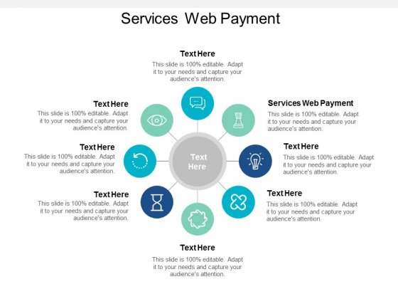 Services Web Payment Ppt PowerPoint Presentation Slides Master Slide Cpb
