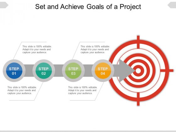 Set And Achieve Goals Of A Project Ppt PowerPoint Presentation Gallery Examples