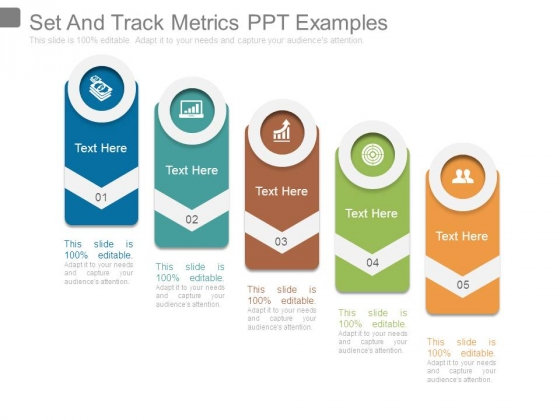 Set And Track Metrics Ppt Examples