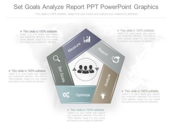Set Goals Analyze Report Ppt Powerpoint Graphics