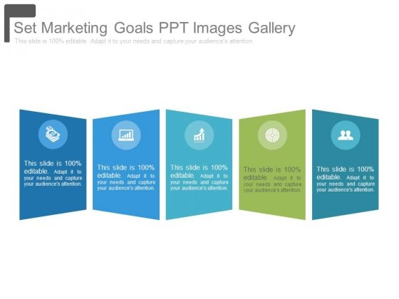 Set Marketing Goals Ppt Images Gallery