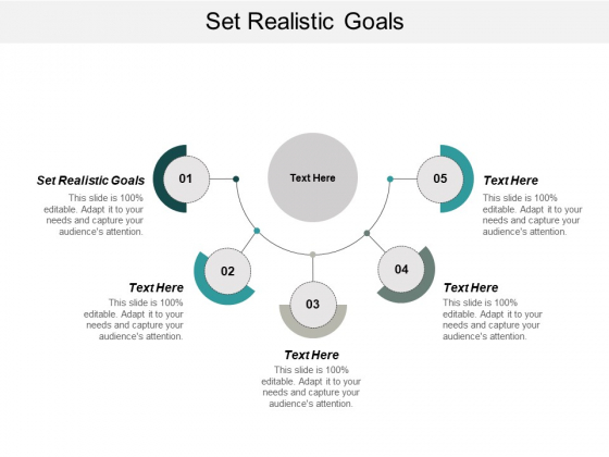 Set Realistic Goals Ppt PowerPoint Presentation Icon Graphics Cpb