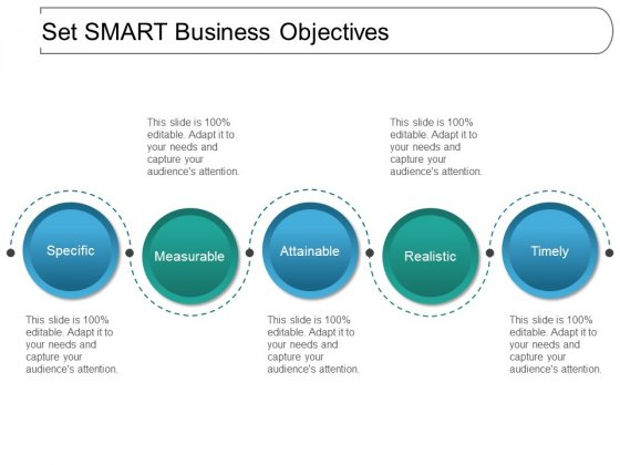 Set Smart Business Objectives Ppt PowerPoint Presentation Styles Introduction