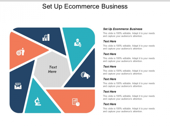 Set Up Ecommerce Business Ppt PowerPoint Presentation Layouts Ideas Cpb