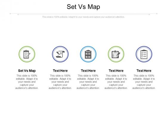 Set Vs Map Ppt PowerPoint Presentation Slides Templates Cpb Pdf