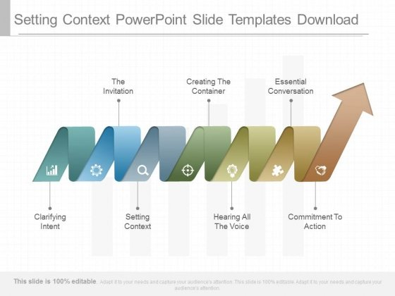 Setting Context Powerpoint Slide Templates Download