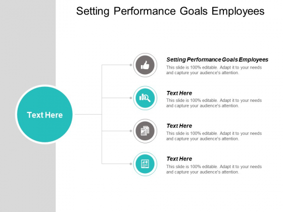 Setting Performance Goals Employees Ppt PowerPoint Presentation Summary Files Cpb