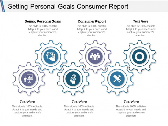 Setting Personal Goals Consumer Report Ppt PowerPoint Presentation Pictures Portfolio