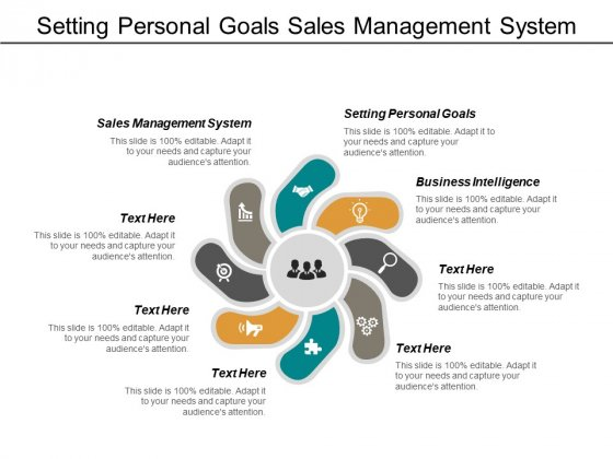 Setting Personal Goals Sales Management System Business Intelligence Ppt PowerPoint Presentation Summary Layout Ideas