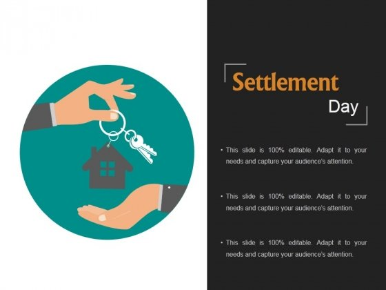 settlement day ppt powerpoint presentation themes powerpoint templates