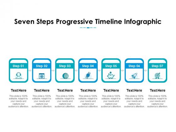 Seven Linear Steps For Project Management Plan Ppt PowerPoint Presentation Outline Maker