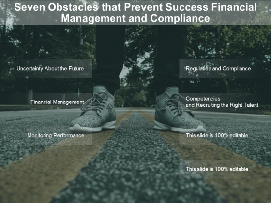 Seven Obstacles That Prevent Success Financial Management And Compliance Ppt PowerPoint Presentation Icon Examples