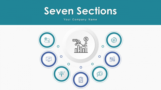 Seven Sections Developing Strategies Ppt PowerPoint Presentation Complete Deck