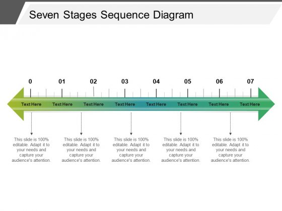 Seven Stages Sequence Diagram Ppt Powerpoint Presentation