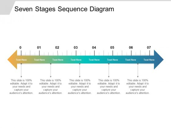 Seven Stages Sequence Diagram Ppt PowerPoint Presentation Inspiration Show