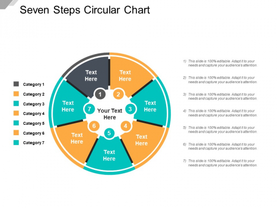 Seven Steps Circular Chart Ppt PowerPoint Presentation Infographics Designs