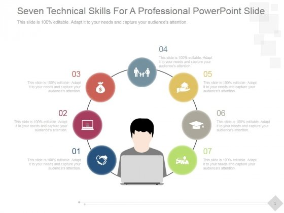 Seven Technical Skills For A Professional Ppt PowerPoint Presentation Layouts